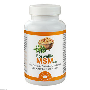 Boswellia MSM forte Dr. Jacobs